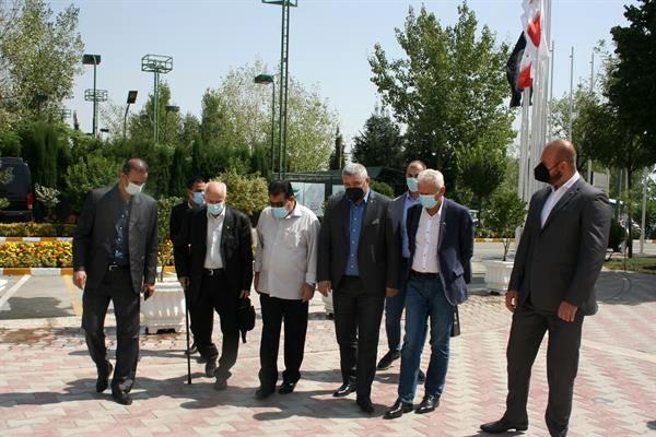 بازدید رئیس و مدیران آکادمی ملی المپیک صربستان از آکادمی ملی المپیک ایران