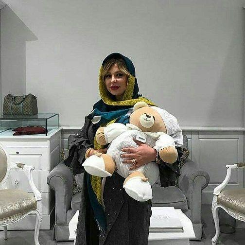 خانم بازیگر در روزهای پایانی بارداری+عکس