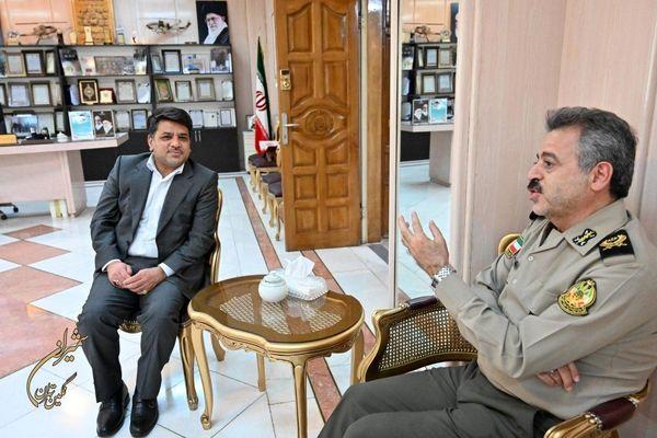 تکمیل پروژه های شهری شمال تهران با همکاری ارتش سرعت می گیرد