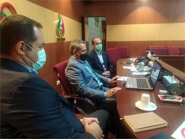 وبینار هماهنگی بازیهای داخل سالن و رزمی بانکوک 2022برگزار شد