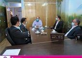 بازدید مدیر منطقه ای بانک ایران زمین از شرکت آرد خوشه فارس