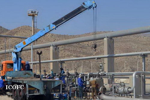 لخته گیر دالان در تاسیسات نم زدایی گاز فراشبند پس از تعمیرات اساسی به تولید برگشت