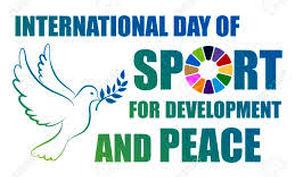 """پیام کمیسیون صلح و ورزش بمناسبت روز بین المللی """"ورزش برای صلح و توسعه"""""""