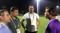 بازدید سعیدی، علیپور و فخری از تمرین تیم ملی امید
