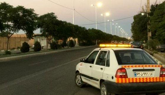 تامین روشنایی محور قنوات – مبارک آباد (بخش مرکزی قم )