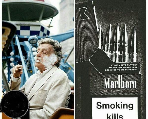 شکایت نویسنده معروف از شرکت دخانیات+عکس