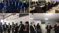 بازید معاون توسعه سرمایه انسانی و پشتیبانی از مدیریت شعب استان یزد بانک ایران زمین