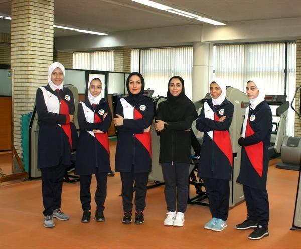 اردونشینان تیم ملی پاراتکواندو دختران در آزمون های قلبی عروقی آکادمی ملی المپیک