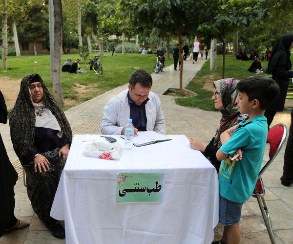 قصه گویی سالمندان برای کودکان در منطقه 15
