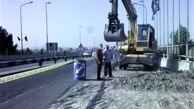 طرح تعمیر و بهسازی پل ورودی آزادراه قم – تهران ( پل سنجر ) عملیاتی شد