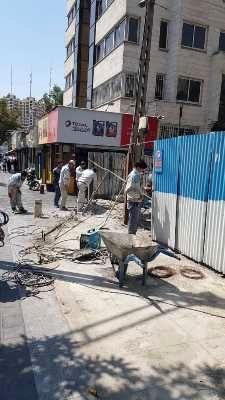 آزادسازی فضای شهری منطقه 7 به نفع شهروندان