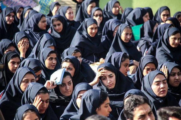 تکلیف جنجالی یک مدرسه + عکس