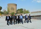 آئین بهره برداری از پروژه تونل زیر گذر استادمعین در قدمگاه امام (ره) انجام شد