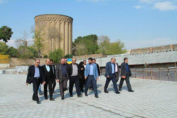 بازدید اعضای پارلمان شهری از پروژه احداث مجموعه رازی