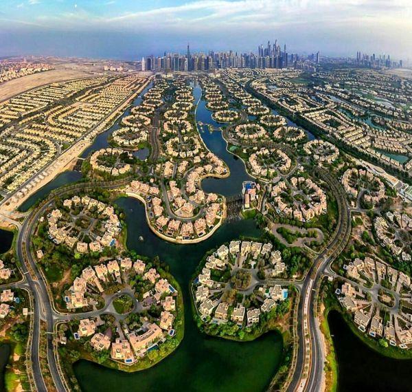 محله ای فوق لاکچری در دبی+عکس