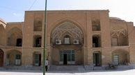 بازیابی بخشی از شکوه گذشته ایوان مسجد سرخ ساوه