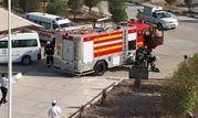 مانور اطفاء حریق در ساختمان اداری بندر چوئبده برگزار شد