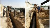 تقویت فشار آب در سازمان آرامستان ، اداره پزشکی قانونی و کوی ولی آباد و صالح آباد