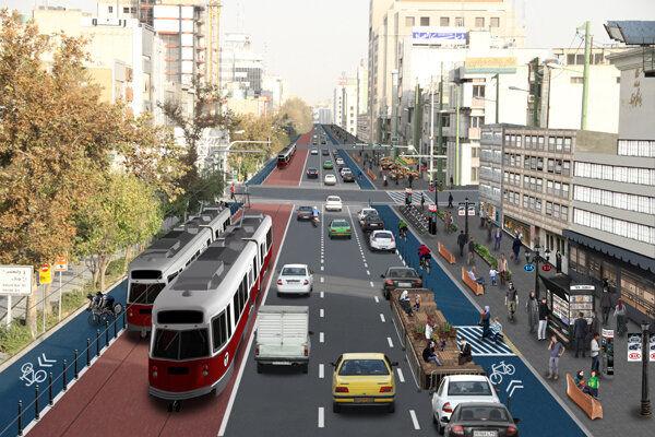 """تبدیل خیابان """"شهید آیت"""" به کامل ترین و زیباترین معبر منطقه 4"""