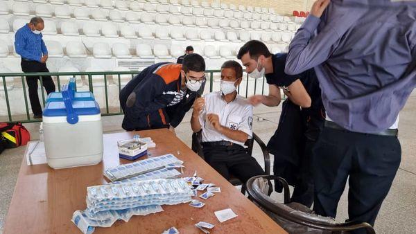 طرح واکسیناسیون کارکنان مجتمع معدنی چادرملو آغاز شد