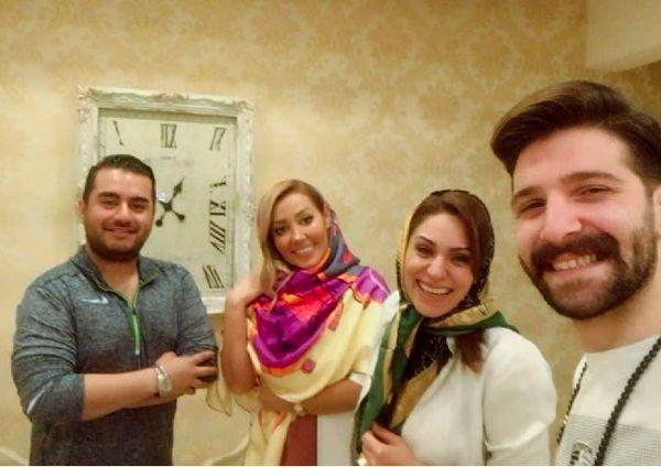 حمید هیراد در مطب خانم دکتر معروف+عکس