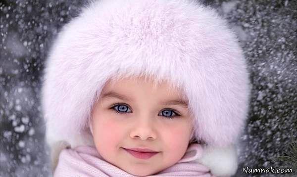 خوشگل ترین دختر جهان با چشمانی خیره کننده + تصاویر