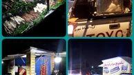 اجرای طرح ساماندهی بساط گستران در منطقه9
