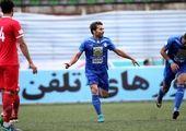 پیراهن شماره 10 استقلال بر تن قائدی +عکس