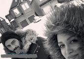 تفریحات روناک یونسی در طبیعت کانادا+عکس