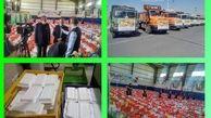 توزیع سبد ارزاق و غذای گرم به نیازمندان منطقه ۱۵