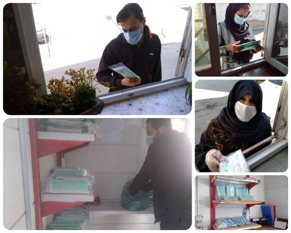 اهدای ماسک بهداشتی در ازای تحویل پسماند خشک در منطقه 15