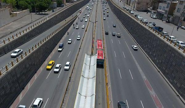 خطوط اتوبوس های تندرو در منطقه ۱۴ بهسازی شد
