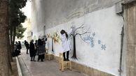 """اجرای طرح های مشارکتی """"رنگ در شهر """" در نواحی چهارگانه منطقه 13"""