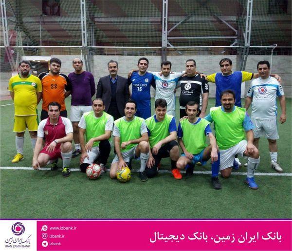 دیدار دوستانه تیم های فوتبال استان اصفهان و قم