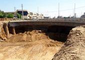 رفع یکی از معارضات درشت دانه ملکی از مسیر فاز نخست بزرگراه شهید بروجردی