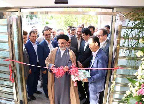 ساختمان جدید شعبه بانک صادرات ایران در فیروزکوه افتتاح شد