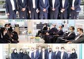 بازدید مدیرعامل شرکت بیمه دی از شعبه مشهد