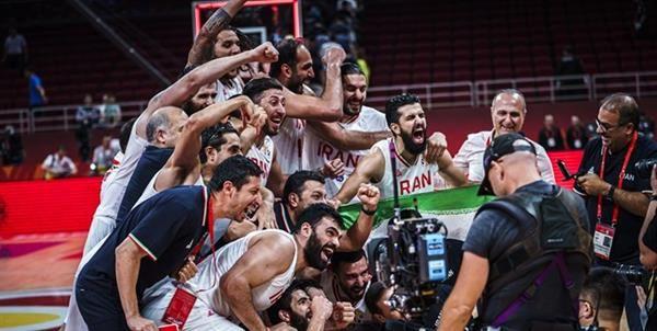 کمیته ملی المپیک کسب سهمیه تیم ملی بسکتبال را تبریک گفت