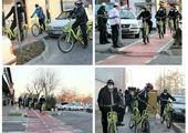 """320 کیلومتر پیاده روسازی و احداث مسیر دوچرخه، دستاورد اجرایی طرح """"به راه"""" در سال 1399"""