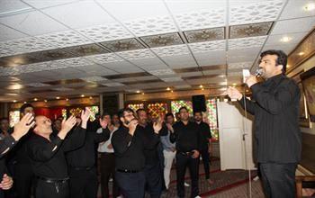برگزاری مراسم سوگواری سالار شهیدان در نمازخانه منطقه چهار