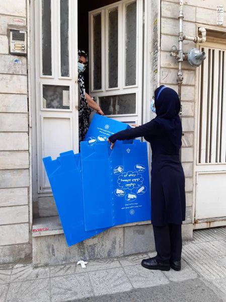 اجرای هوشمندانه طرح جداسازی زباله از مبداء در منطقه 4