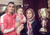 علی علیپور به همراه همسر و فرزندش در کنسرت +عکس