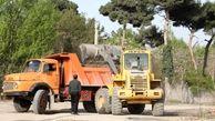ساماندهی و پاکسازی جداره جنوبی بزرگراه شهید یاسینی تا بزرگراه بابائی در منطقه ۱۳