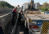 ایمنسازی بزرگراه امام علی(ع) در زیر گذر شهید محلاتی
