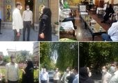 افتتاح ورودی قدیمی موزه پست توسط شهردار قلب طهران