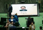 کنایه علی ربیعی خطاب به رئیس مجلس + عکس