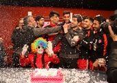 جشن تولد علیپور در تمرین پرسپولیس+ عکس