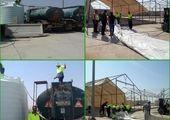 برگزاری مراسم بدرقه 82 خادم  زوار الحسین (ع)  منطقه 15 به کربلای معلی