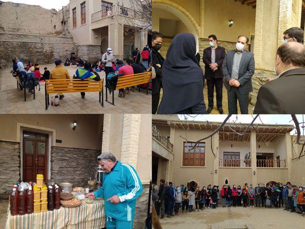 استقبال گردشگران و ورزشکاران از جشنواره آش روستای هزاوه