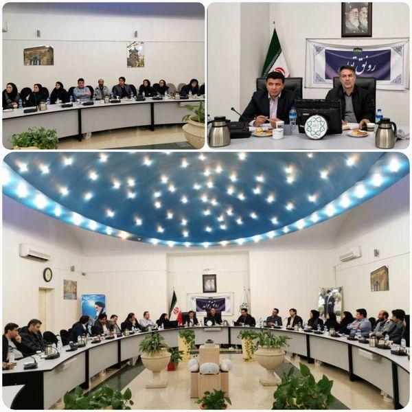 جلسه بررسی اجرای طرح کاپ (کاهش پسماند)درمنطقه 11برگزار شد.